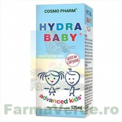 Hydra baby Sirop Advanced kids copii 125 ml Cosmopharm