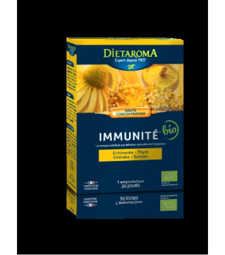 Immunite BIO 20 fiole buvabile pentru imunitate puternica Dietaroma
