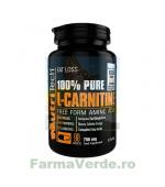Pure L-Carnitine 100% Natural! 90 capsule Nutritech