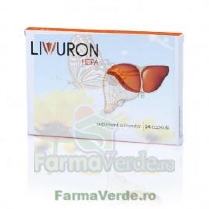 LIVURON HEPA Ficat Sanatos! 24 capsule NaturPharma