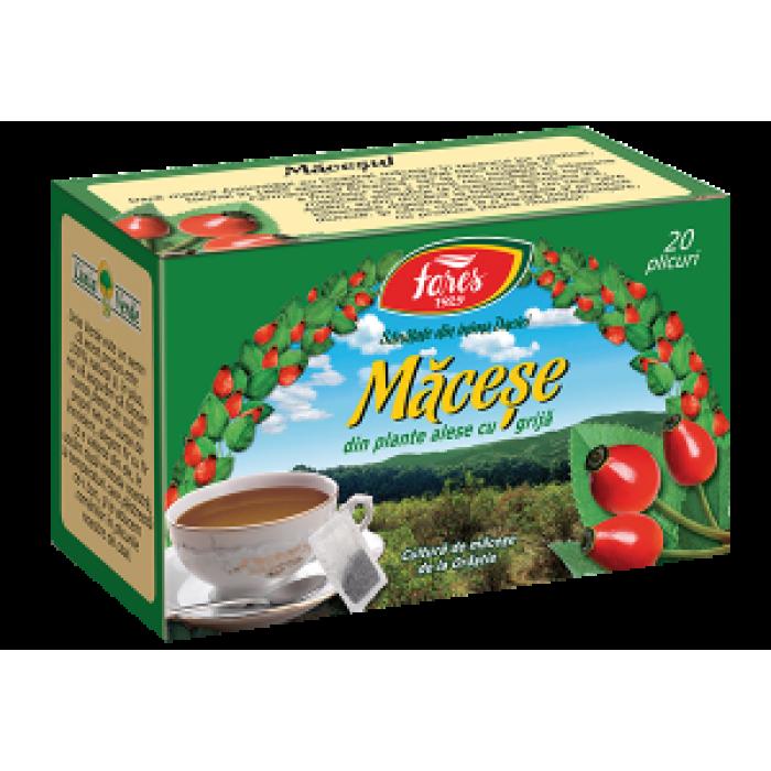 Ceai de Macese 20 plicuri Fares