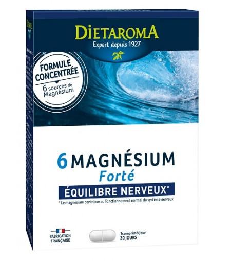 Magneziu 6 Forte 300mg Formula concentrata 30Cpr Dietaroma