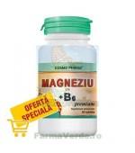 Magneziu 375mg + B6 30 tablete Cosmopharm
