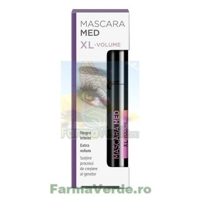 MASCARA MED XL-VOLUME Rimel Black Negru Zdrovit