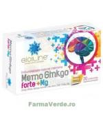 Memo Ginkgo Forte+Magneziu 30 comprimate ACHELCOR PHARMA BIOSUNLINE