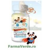 Mini Multivitamine cu Biominerale Ursuleti Copii 30 comprimate ACHelcor BioSunline