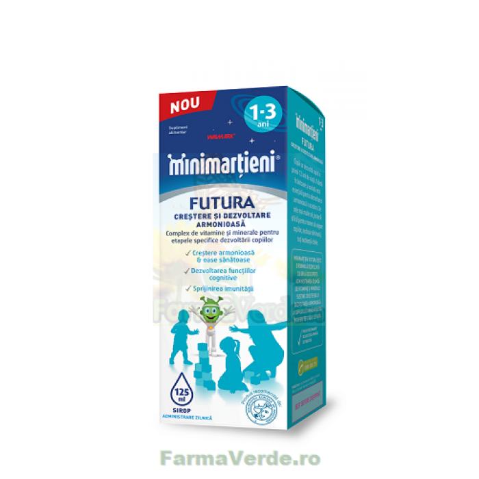 Minimartieni Futura Sirop 1-3 ani 125 ml Walmark