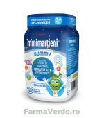 Minimartieni Gummy cu Echinacea Copii 60 jeleuri Walmark