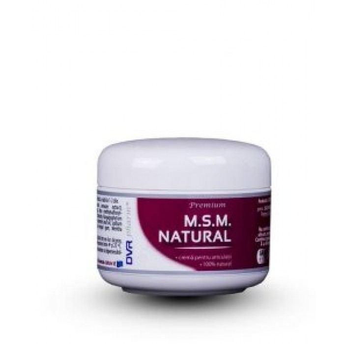 MSM natural crema Dvr Pharm