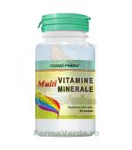 Multivitamine si Multiminerale 30 comprimate Cosmopharm