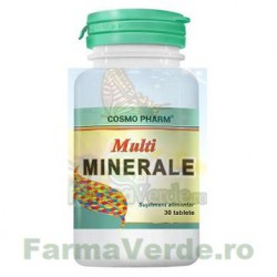 Multiminerale 30 tablete Cosmopharm