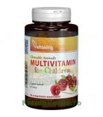 Multivitamine cu minerale pentru copii 90 comprimate Vitaking