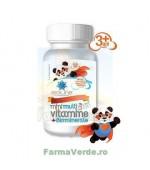 Multivitamine cu Biominerale pentru copii 30 comprimate de supt ACHELCOR PHARMA BIOSUNLINE