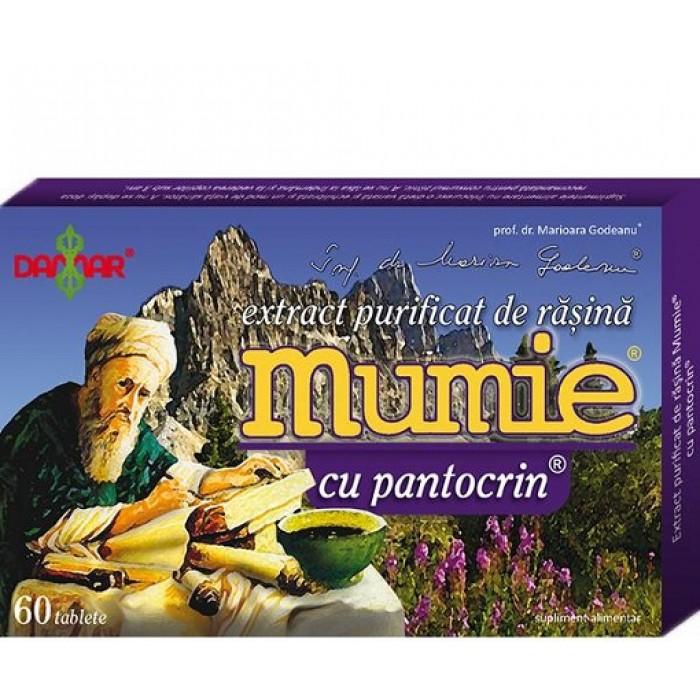 Mumie Extract Rasina cu Pantocrin 60 cpr Damar General