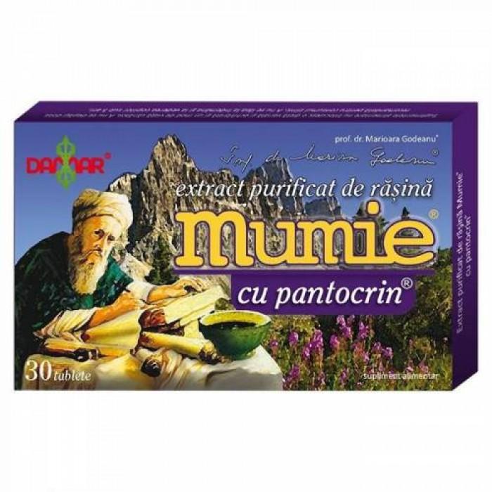 Mumie Extract Rasina cu Pantocrin 30 cpr Damar General