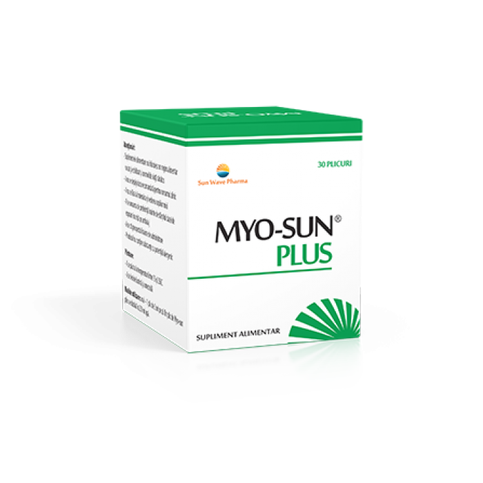 MyoSun Plus 30 plicuri Infertilitate Feminina Sun Wave Pharma