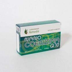 Nano Coenzima Q10 30 capsule Laboratoarele Remedia