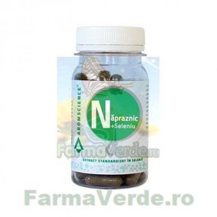 Napraznic + Seleniu 60 capsule Bionovativ