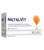 Natalvit Vitamine Prenatale 60 comprimate Hyllan Pharma