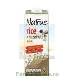 Lapte Vegetal Bautura din Orez cu Alune de Padure 1L NATRUE