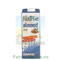 Lapte Vegetal Bautura din Migdale Neindulcit 1L NATRUE