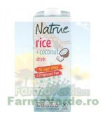 Lapte Vegetal Bautura din Orez 1L NATRUE