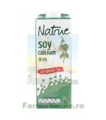 Lapte Vegetal Bautura din Soia cu Calciu si Vitamine 1L NATRUE