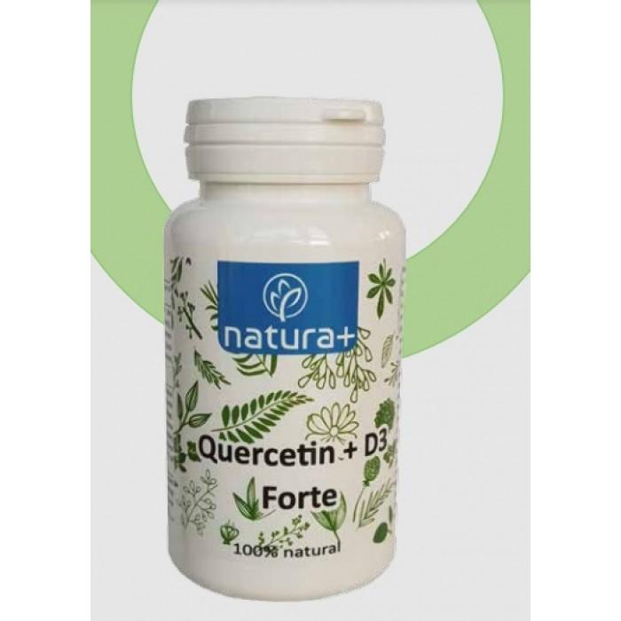 Quercetin 360mg + Vitamina D3 60 Capsule Natura+