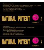 Natural Potent 10ml Spray pentru ejaculare precoce si prelungirea actului sexual NaturaliaDiet