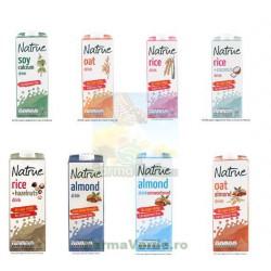 Lapte Vegetal Bautura din Ovaz cu Migdale 1L NATRUE