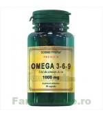 Omega 3-6-9 Ulei de Seminte de In 30 capsule Cosmopharm Premium