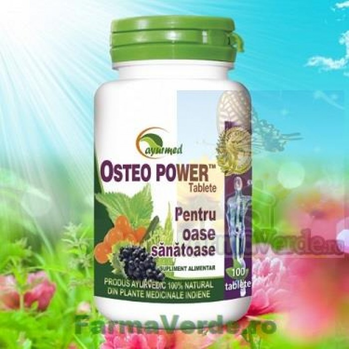 Osteopower 100 Tablete Ayurmed Star International