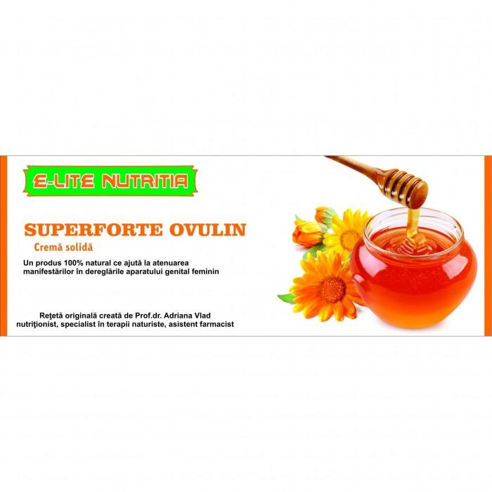OVULIN SuperForte Ovulin Afectiuni Ginecologice 20Bucati Elite Nutritia Deva