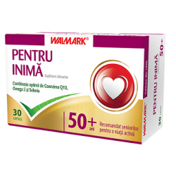 Pentru Inima +50 ani Seniori 30 tablete Walmark
