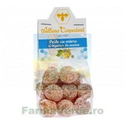 Perle cu Miere si Laptisor de Matca 100 gr Albina Carpatina