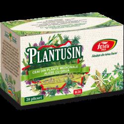 Plantusin Ceai plante medicinale R26 20 plicuri Fares