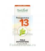 Polygemma Nr.13 Piele Detoxifiere 50 ml Plantextrakt
