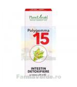 POLYGEMMA Nr.15 Intestin Detoxifiere 50 ml Plantextrakt