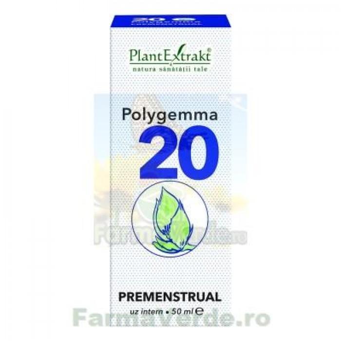 Polygemma Nr 20 Premenstrual 50 ml Plantextrakt