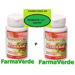 Acerola+Vitamina C 30 cpr Adams Vision