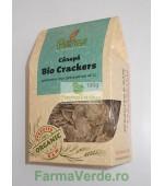 Crackers cu Canepa 100 gr BIO Petras