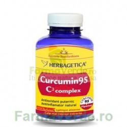 Curcumin 95 C3 Complex 120 caspule Herbagetica