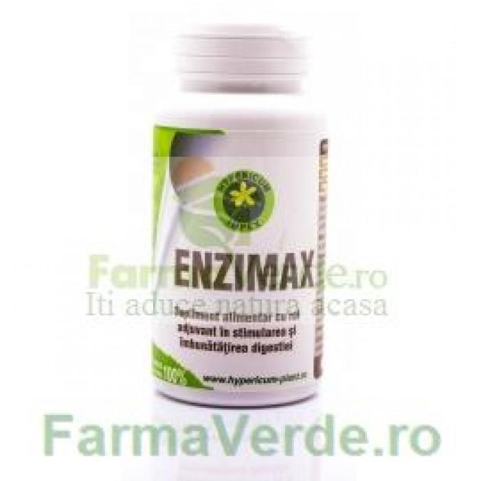 Enzimax Enzime 60 Capsule Hypericum Impex Plant