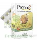 Propol 2 EMF Tablete cu capsuni si miere pentru copii 45 tablete Aboca