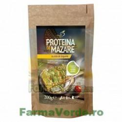 Proteina de mazare cu mix de legume 200 gr DaciaPlant