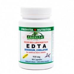 EDTA Disodium Chelator 90 capsule Arteroscleroza ProVita