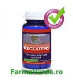 Reglatens Regleaza tensiunea arteriala 60 capsule Herbagetica
