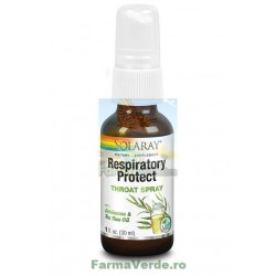 Respiratory Protect Throat Spray 30 ml Solaray Secom