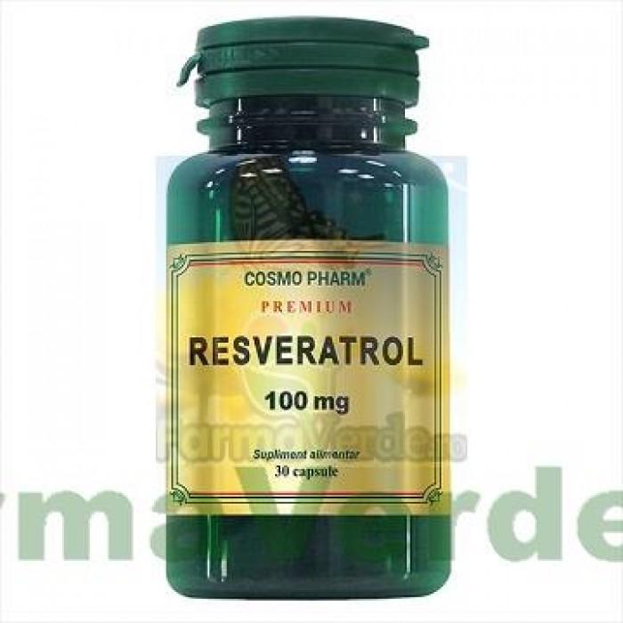 Resveratrol 100 mg 30 capsule COSMOPHARM PREMIUM