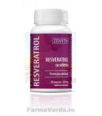 Resveratrol cu seleniu 30 capsule Zenyth Pharmaceuticals